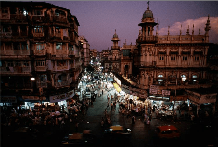 Urbanization of Bombay has Strong Links to