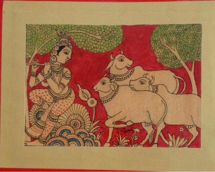 The Story of Indian Kalamkari