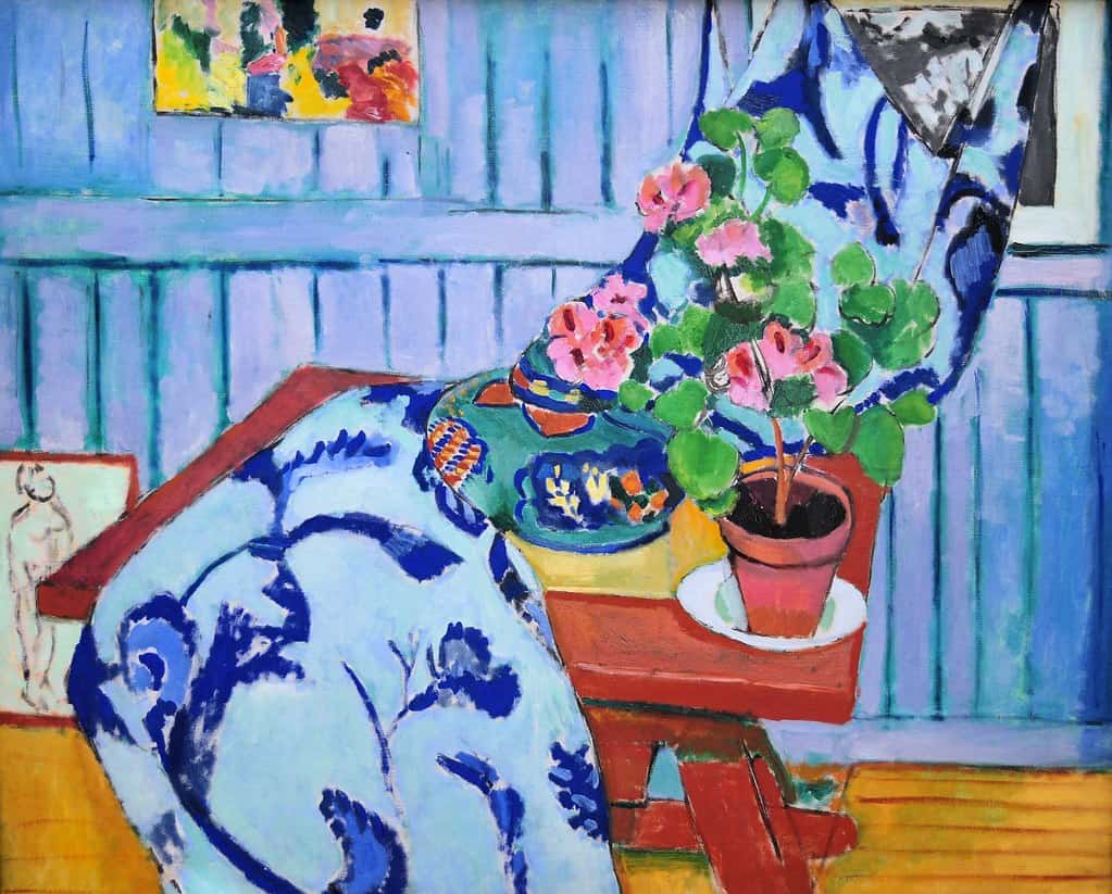 Matisse's Art and Textiles