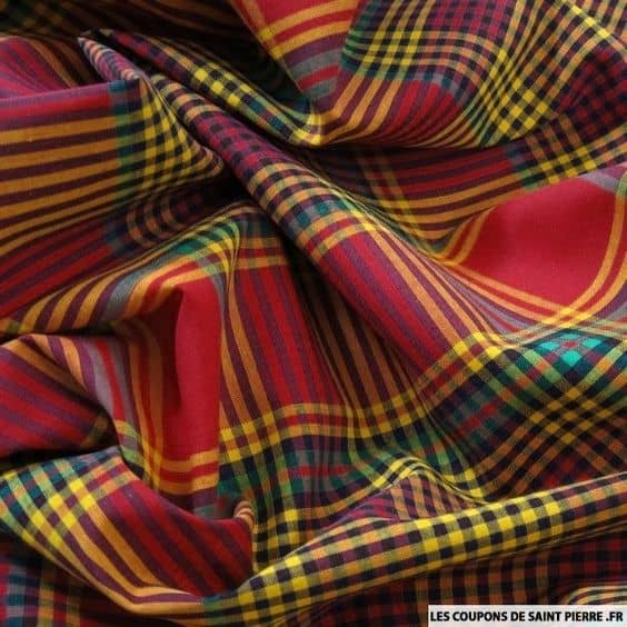Fashionable Madras Checks